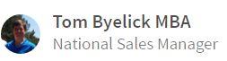 Tom Byelick MBA